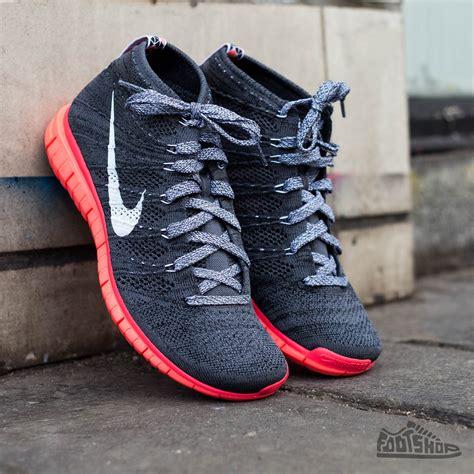 Nike Flyknit Chukka Black nike free flyknit chukka grey white black lava