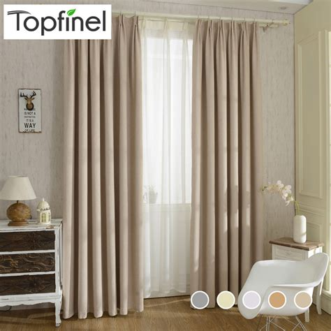 thick window curtains 2015 new solid twill window shade thick blackout curtains
