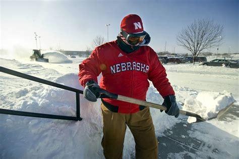 snow forecast lincoln ne nebraska hits winter halfway odds are more snow on