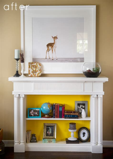 what to do with old fireplace 15 beautiful diy ideas for your fireplace design sponge