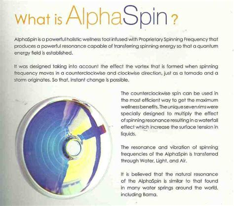 Alpha Spin Original New bama alphaspin