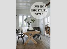 industrial farmhouse chic | ... 25 Ways to Incorporate ... Industrial Style Home Decor