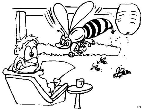 wohnzimmer comic boese biene im wohnzimmer ausmalbild malvorlage comics