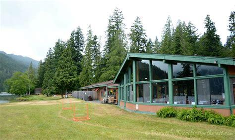 log cabin resort log cabin resort in the olympic national park wa