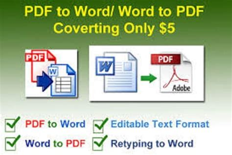 convert pdf to word and translate i will convert your pdf files writing translation