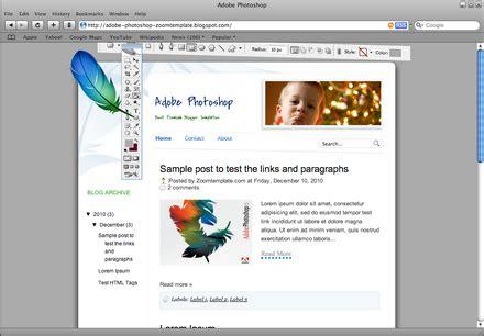 tutorial wpap melalui photoshop download free premium blogger template gratis
