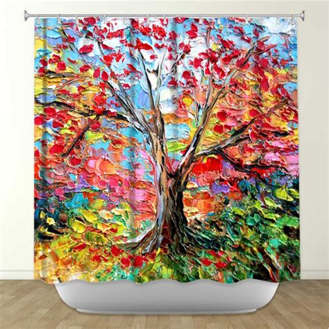 artist shower curtains dianoche designs donates 150 illuminated art products to