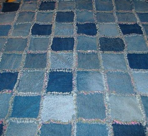 Denim Rag Quilt With A Twist by 98 Best Images About Denim On Quilt