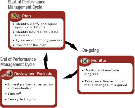 performance management process template performance management system objectives components and