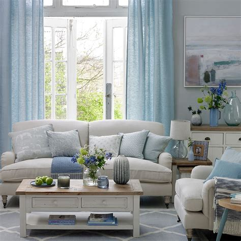 wohnung ideen 4667 coastal living rooms to recreate carefree days