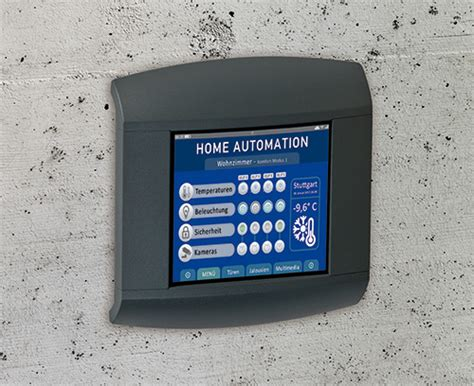 panel for home automation okw