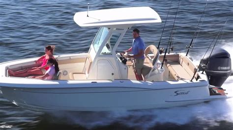 scout boats ratings scout boats 225 xsf youtube