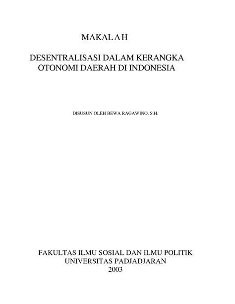 format makalah kuliah contoh format kerangka makalah