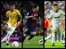 Neymar and Messi vs Cristiano Ronaldo