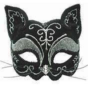 Masca De Carnaval Pisica Neagra  Bruno The Funny Shop
