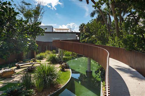 brazilian influenced modern miami beach estate
