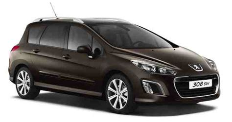 1 Car Garage Size peugeot 308 sw the compact estate seven seater vehicle