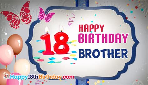 Quotes For 18th Birthday Brother