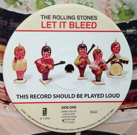 let it bleed a the rolling stones let it bleed play it loud music mostly vinyl a lot of jack white stuff