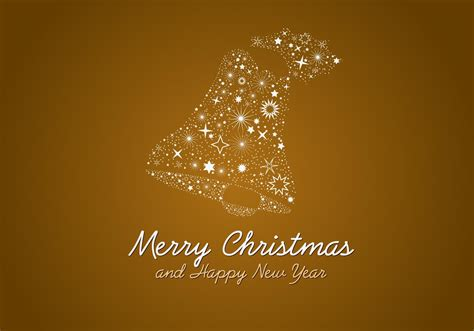 christmas bell   vector art stock graphics images