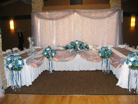 decorating the head table at a wedding reception ehow reception head table head table set ups pinterest