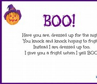 Cute Halloween Poems for Kids