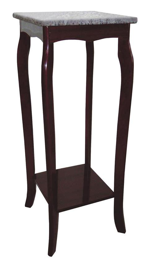 ore international oval side table by oj commerce h 114 ore international cherry phone table with marble top by oj
