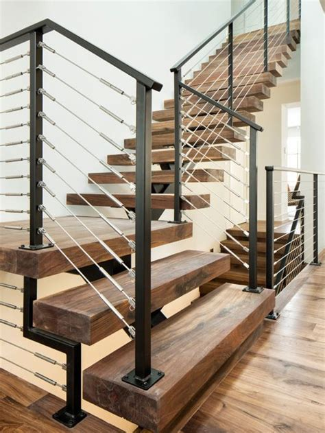 L Shaped Stairs Design L Shaped Staircase Design Ideas Remodels Photos