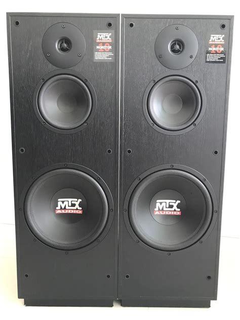Speaker Subwoofer 200 Watt used mtx audio monitor 10 stereo speaker pair 200