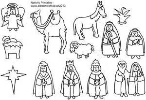 Nativity free coloring pages on masivy world