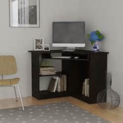 Small Corner Desk Sears Essential Home Berkley Corner Desk Espresso