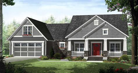 4 Bedroom Craftsman House Plans by 4 Bedroom Craftsman With Smart Looks 51116mm