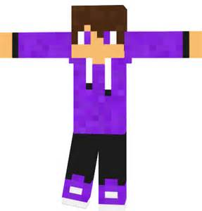 Minecraft purple cool guy skin minecraft normal skin related keywords