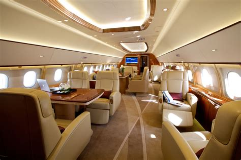 Jets Interior by The 87 Million Airbus Acj319 Redefines The Concept Of