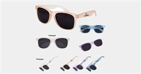 color changing sunglasses personalized sunglasses color changing imprintlogo