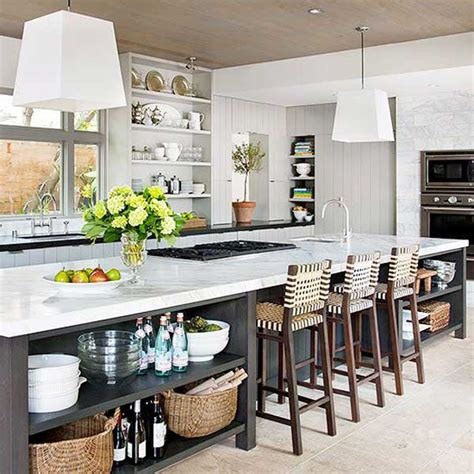 long kitchen island designs 19 must see practical kitchen island designs with seating