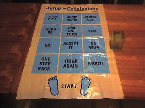 Jump To Conclusions Mat by It S A Jump To Conclusions Mat Of Course Flickr Photo