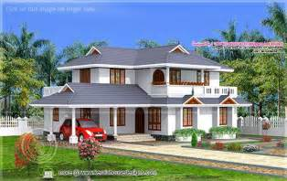 superb Simple Design Of Two Storey House #9: kerala-model-house-thumb.jpg