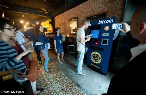 Bitcoin Singapore | first cash out bitcoin atm in singapore asiaone digital1 news