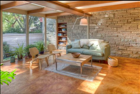 concrete living room floor stained concrete living room floor for the home pinterest