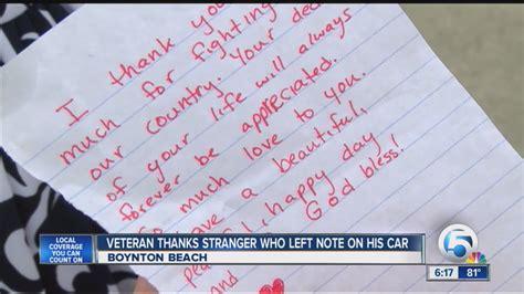 Thank You Letter Veterans Sles veteran thank you note