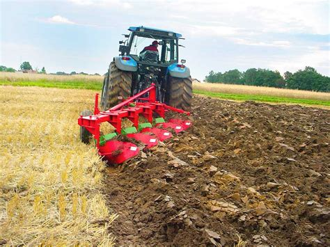 unia tur vario mounted bed plough