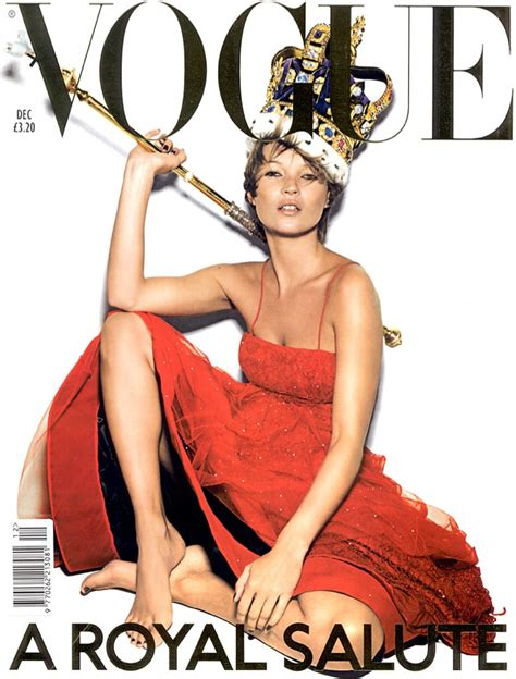 Cbell Kate Moss On The Cover Of Vogue February 2008 by Kate Moss Magazine Cover Photos