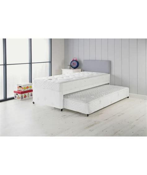 single headboards argos buy airsprung elliott deluxe single divan bed with trundle