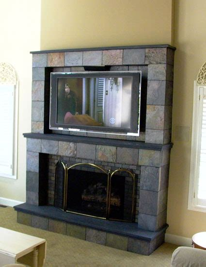 unlimited connect tv  fireplace installation