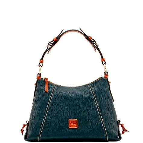 Dooney Bourke Introducing Dooney And Bourke Mini Collection by Dooney Bourke Pebble Grain Small East West Slouch