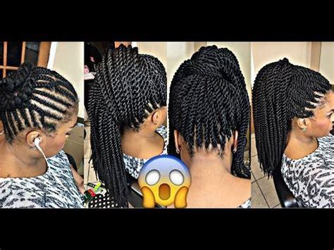 best braid patterns for crotchet senagelese twists best braiding pattern 4 crochet ponytail youtube