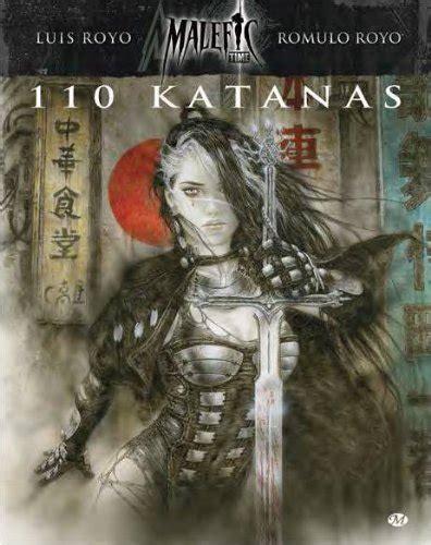 malefic time tome 2 110 katanas artbook