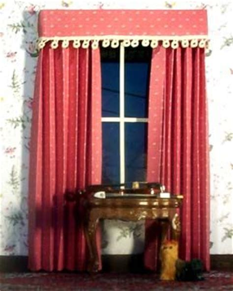 how to make dolls house curtains 17 best images about mini curtains windows on pinterest