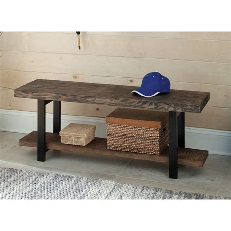 wooden dining bench seat rustic wooden bench seat metal legs wood entry hall dining